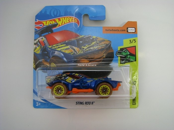 Sting Rod II Hot Wheels Dino Riders 3/10