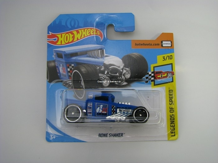 Bone Shaker Blue Hot Wheels Legends of speed 3/10