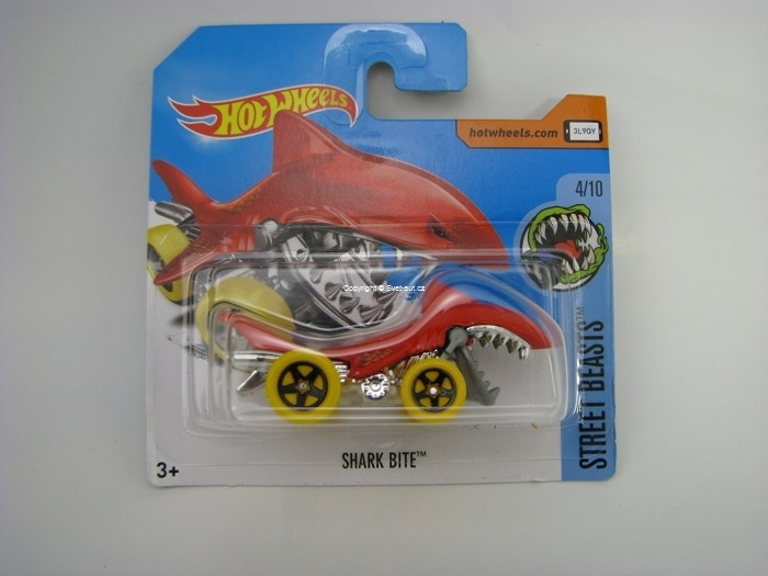 Shark Bite Hot Wheels Street Beasts 4/10
