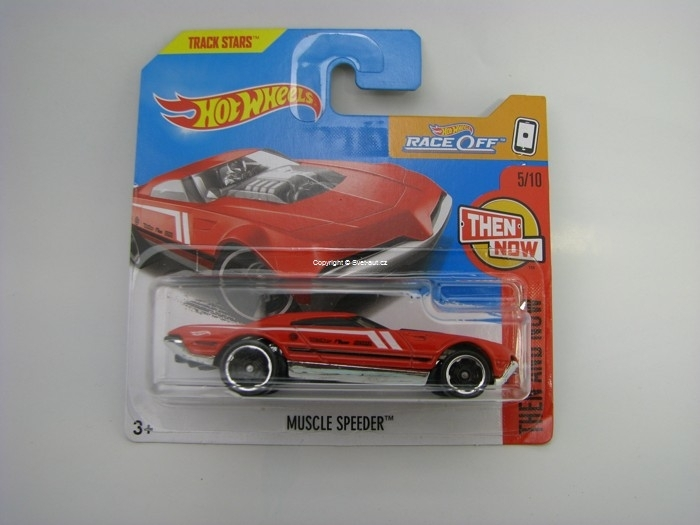 Muscle Speeder Red Hot Wheels The And Now 5/10