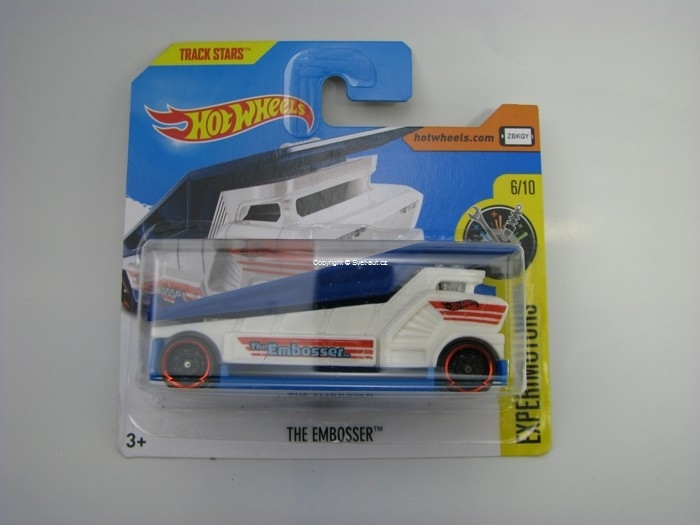 The Embosser Hot Wheels Experimotors 6/10
