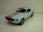Ford Mustang Coupe No.8 Gulf Oil 1967 1:18 Greenlight