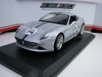 Ferrari California T No.14 Grey 70 th Aniversary Collection Limited Edition 1:18 Bburago