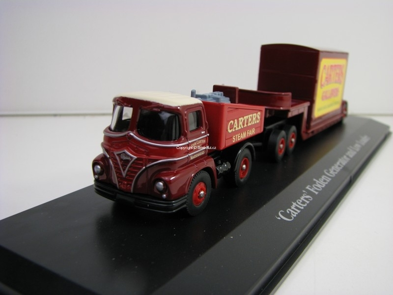 Carters Foden Generator and Low Loader 1:76 The Greatest Show On Earth