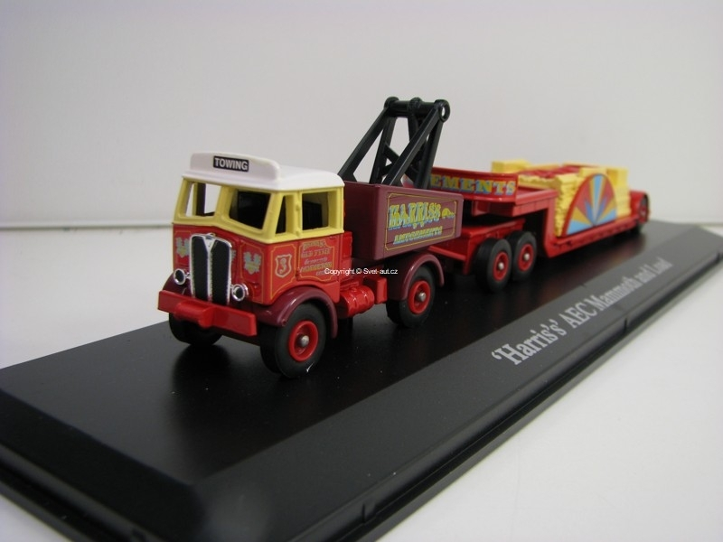 Harris s AEC Mommoth and Load 1:76 The Greatest Show On Earth