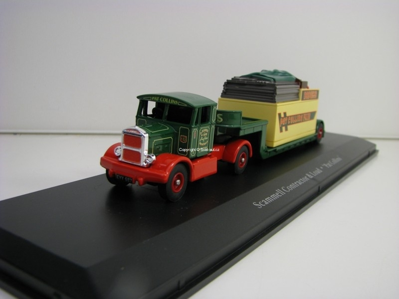Scammell Contractor and Load Pat Collins 1:76 The Greatest Show On Earth