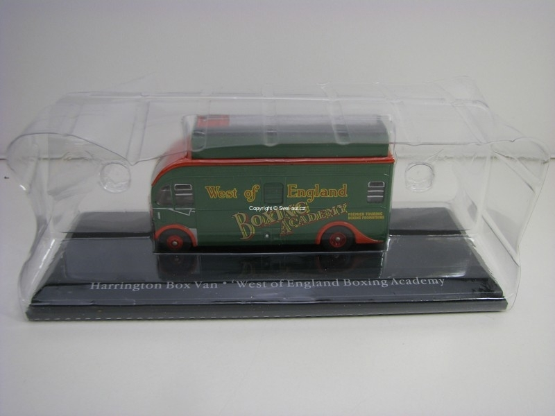 Harrington Box Van West England Boxing Academy 1:76 The Greatest