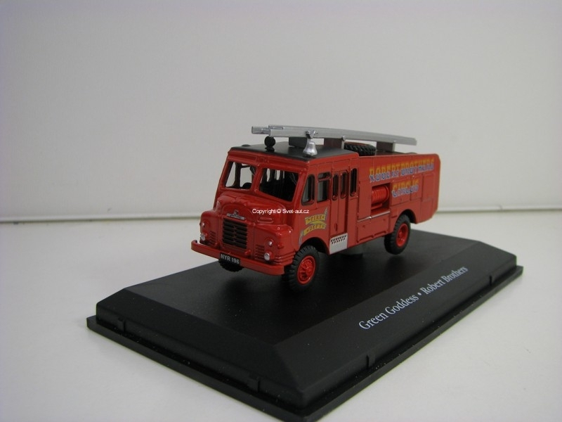 Bedford RLHZ Fire Dept Green Goddess Robert Brothers Cirkus 1:76 The Greatest Show On Eart