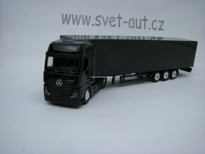 Mercedes-Benz Actros Black 1:87 Noname