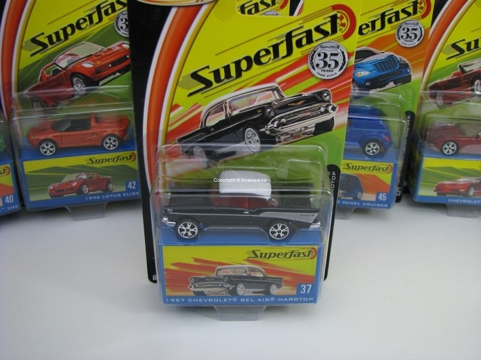 Chevrolet Bel Air Hardtop 1957 Matchbox Superfast 35 Years
