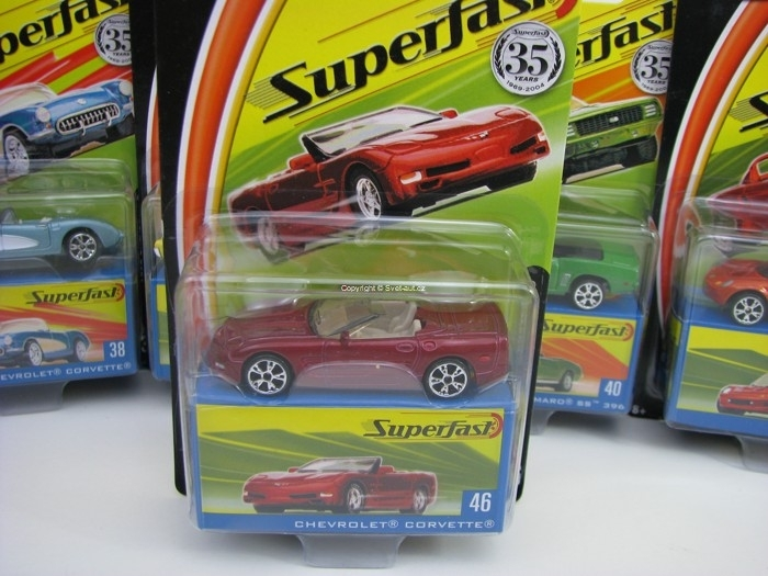 Chevrolet Corvette Matchbox Superfast 35 Years