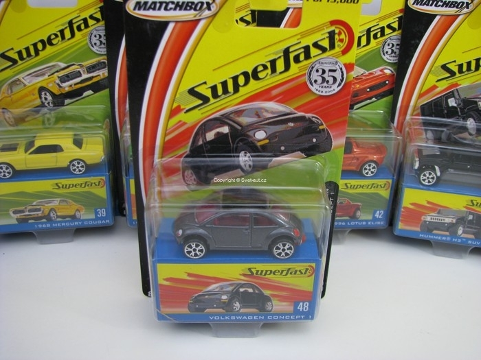 Volkswagen Concept 1 Matchbox Superfast 35 Years