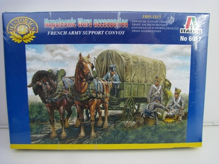 French Army Support Convoy stavebnice 1:72 Italeri 6017