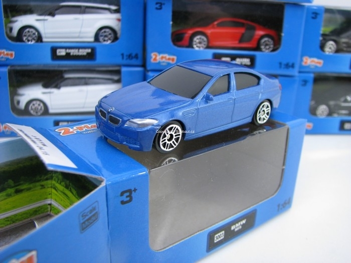 BMW M5 Blue 1:64 2-Play traffic