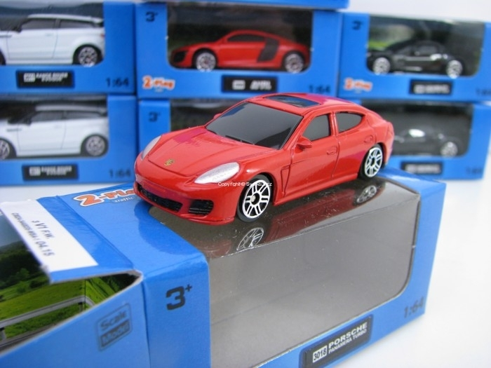 Porsche Panamera Turbo Red 1:64 2-Play traffic