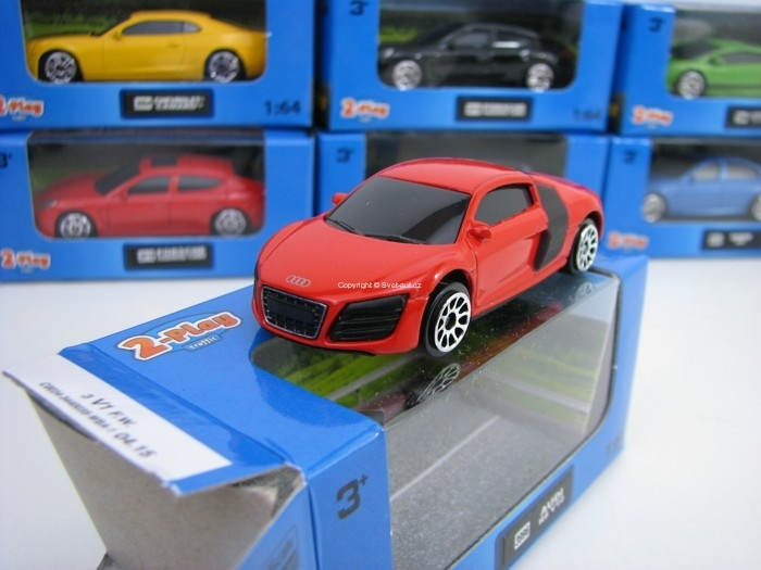 Audi R8 V10 Red 1:64 2-Play traffic
