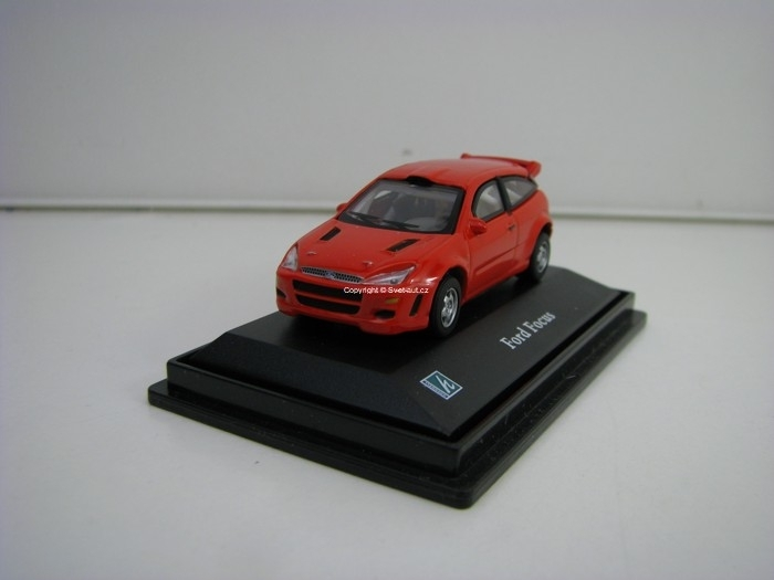 Ford Focus red 1:72 Cararama