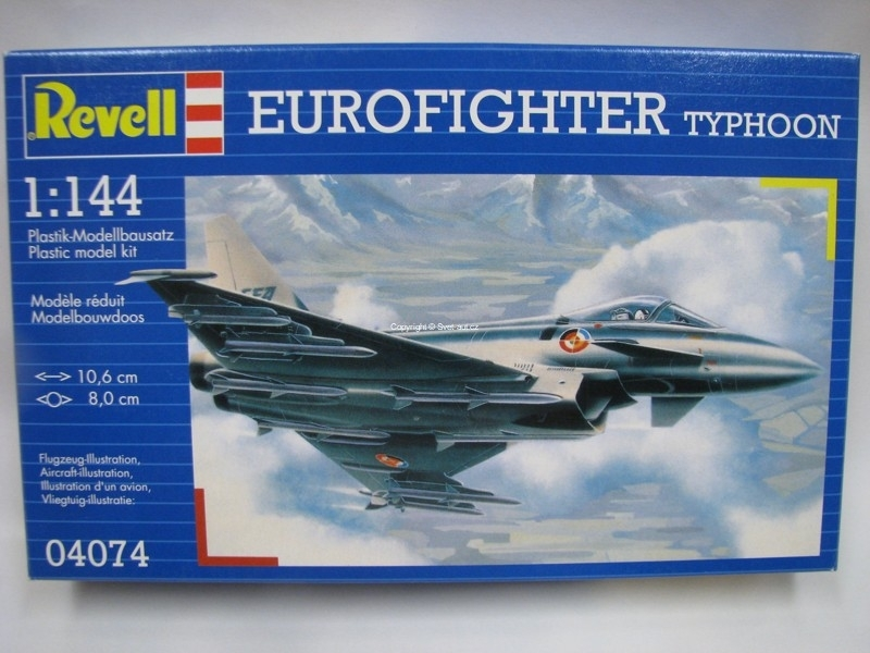 Eurofighter Typhoon stavebnice 1:144 Revell 04074