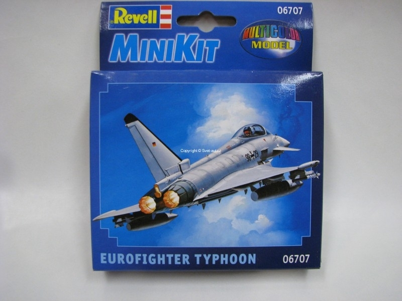 Eurofighter Typhoon mini kit 1:125 Revell 06707