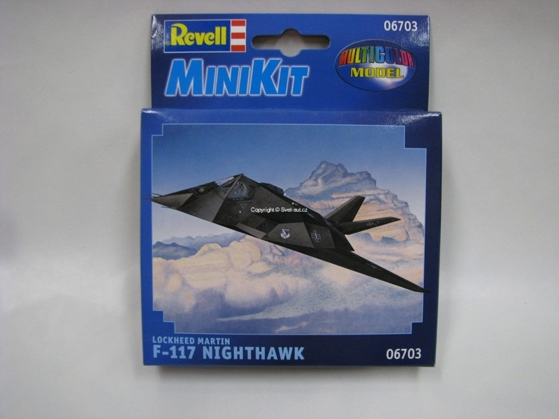 Lockheed Martin F-117 Nighthawk mini kit 1:125 Revell 06703