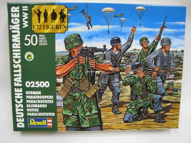 German Paratroopers figurky 1:72 Revell 02500