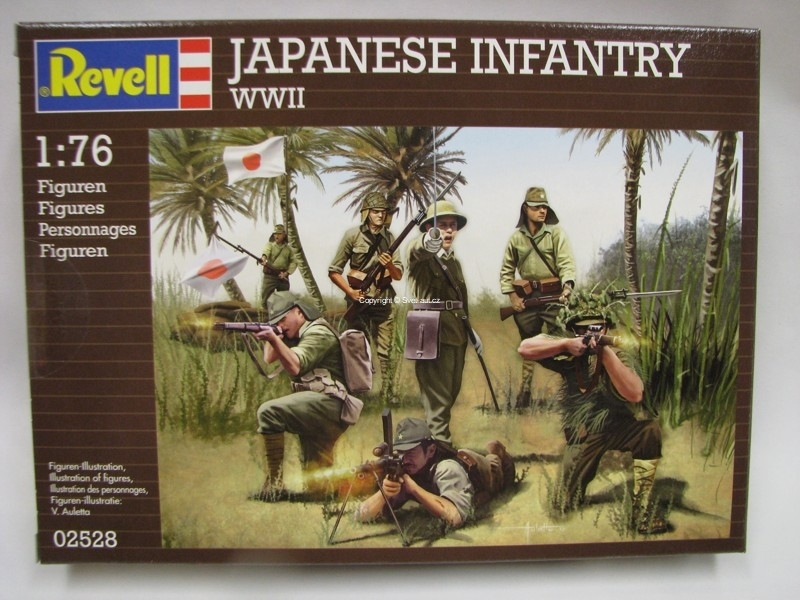 Japanese Infantry WWII figurky 1:76 Revell 02528