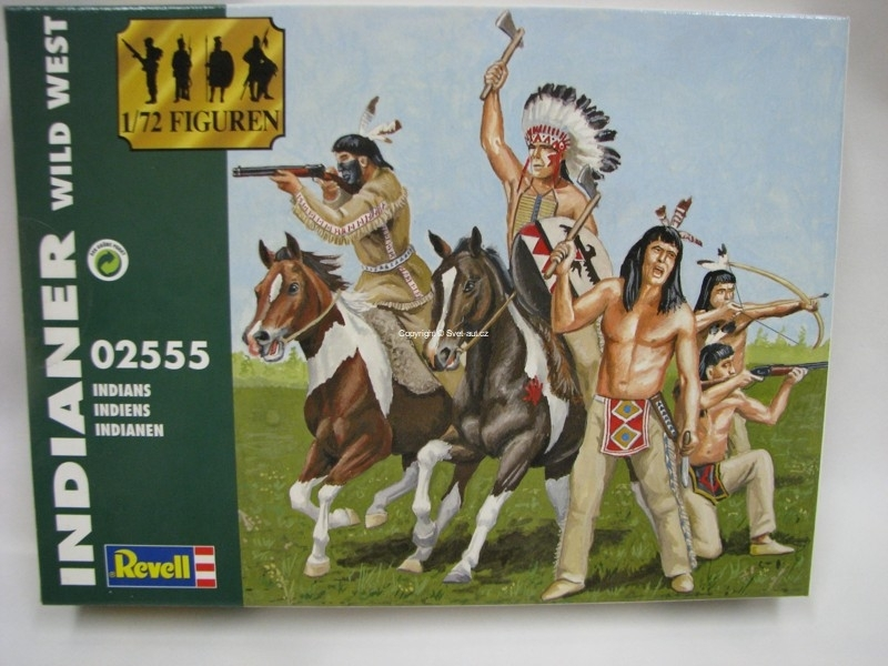 Indianer Wild West figurky 1:72 Revell 02554