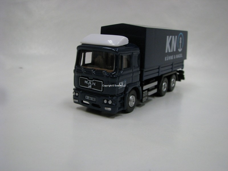 Man F2000 Kuhne Nagel 1:72 Dickie Toys