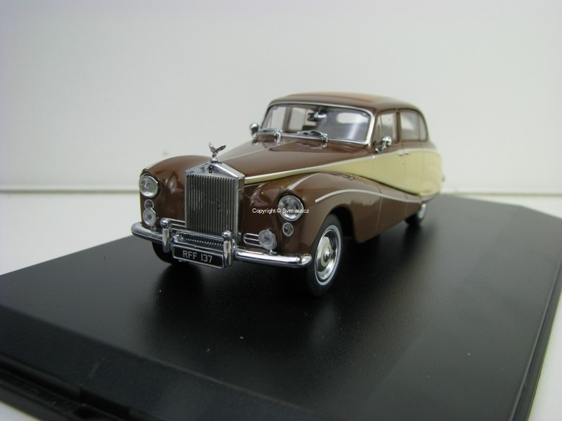 Rolls Royce Silver Cloud Hooper Empress 1:43 Oxford