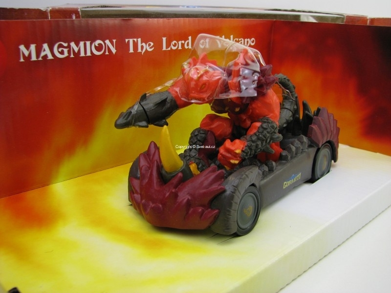 Gormiti Magnion Lord of Volcano 1:24 Mondo Motors