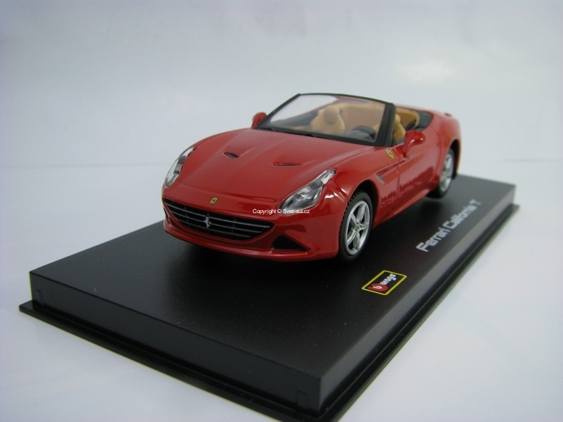 Ferrari California T Open Cabrio Red 1:43 Signature series Bburago 36903