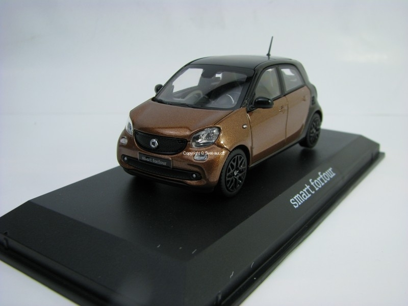 Smart Forfour Prime Brown/Black 1:43 Norev