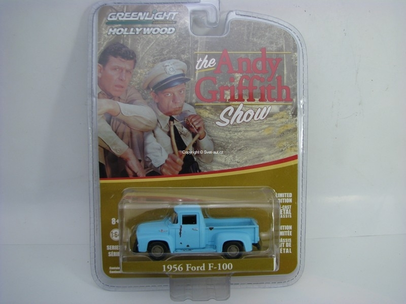 Ford F-100 1956 The Andy Griffith Show 1:64 Hollywood Greenlight serie 17