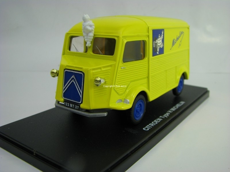 Citroen Type H Michelin 1:43 Atlas Edition