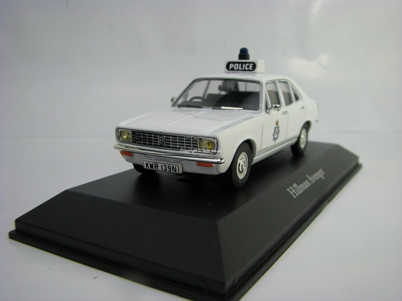 Hillman Avenger West Yorkshire 1:43 Corgi Best Of Britisch Police Cars Atlas Edition