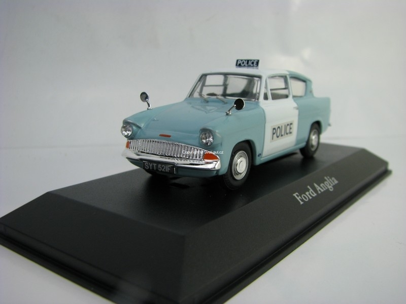 Ford Anglia Metropolitan Police 1:43 Corgi Best Of Britisch Police Cars Atlas Edition