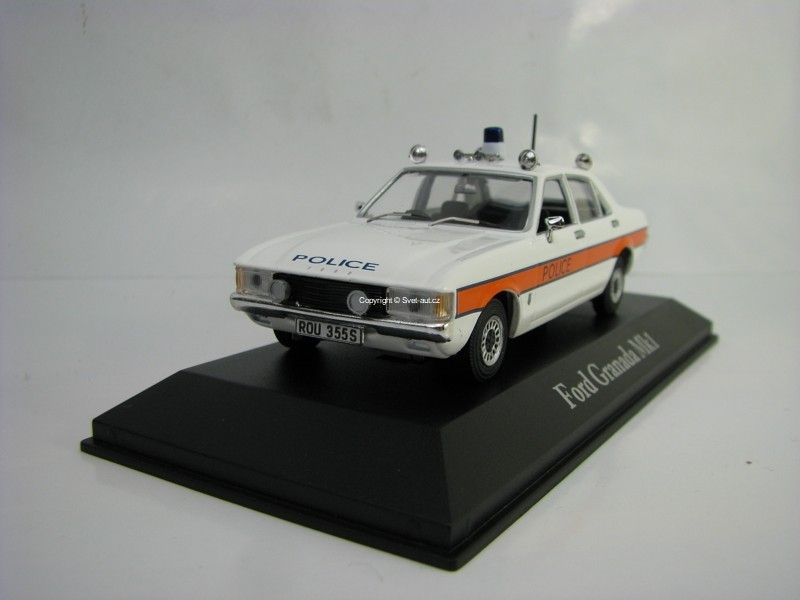 Ford Granada MkI Avon and Somerset 1:43 Corgi Best Of Britisch Police Cars Atlas Edition