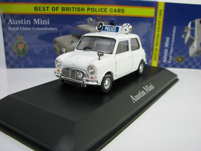 Austin Mini Royal Ulster Constabulary 1:43 Corgi Best Of Britisch Police Cars Atlas Editio