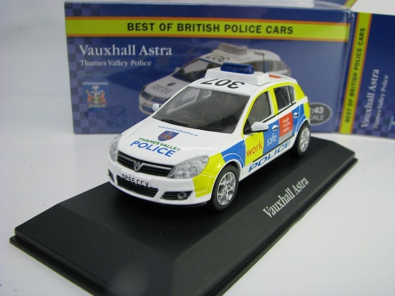 Vauxhall Astra Thames Valley Police 1:43 Corgi Best Of Britisch Police Cars Atlas Edition