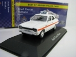 Ford Escort Mexico Sussex Police 1:43 Corgi Best Of Britisch Police Cars Atlas Edition