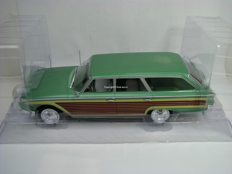 Ford Country Squire metallic Green 1960 1:18 MCG Modelcar Group