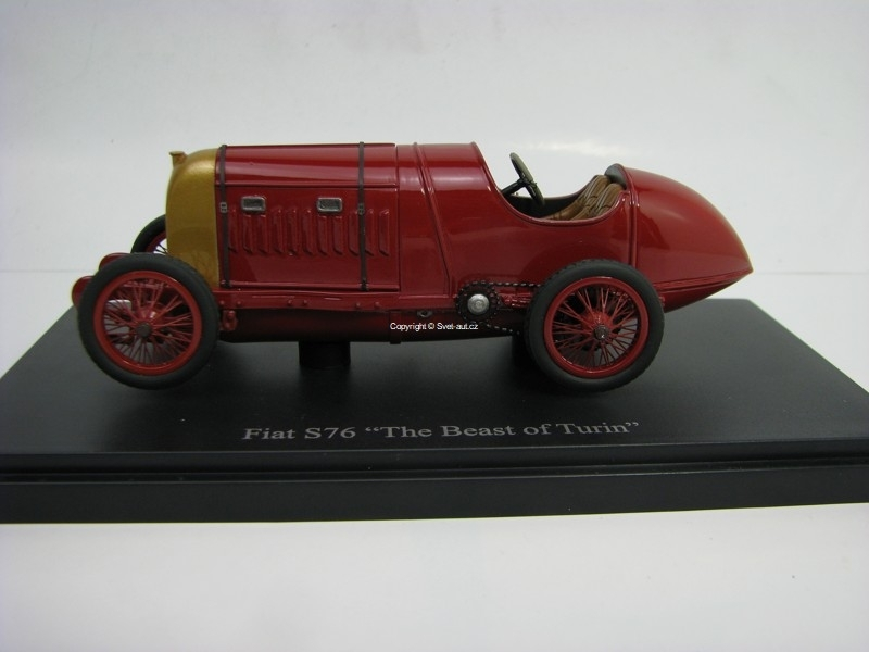 Fiat S76 The Beast of Turin 1911 Limitovaný model 1:43 Autocult
