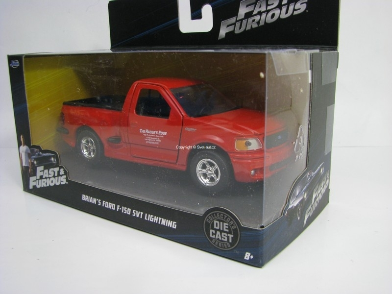 Brian's Ford F 150 SVT Lightning Fast and Furious 6 1:32 Jada Toys