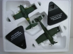 Duo pack Letadla Kawasaki N1K2 a Republic P-47D Thunderbolt 1:72 Atlas Edition 023