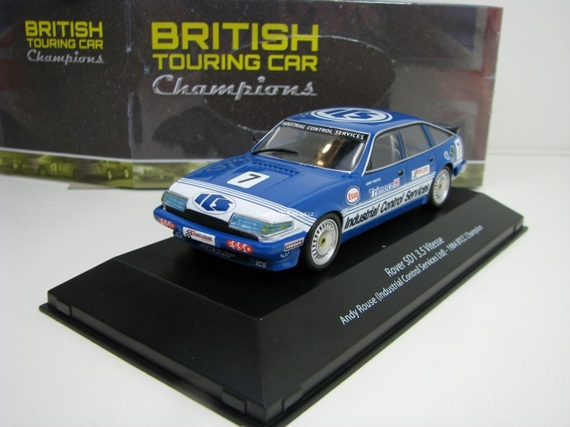 Rover SD1 3,5 Vitesse No.7 Andy Rouse 1984 BTCC Champion 1:43 Atlas