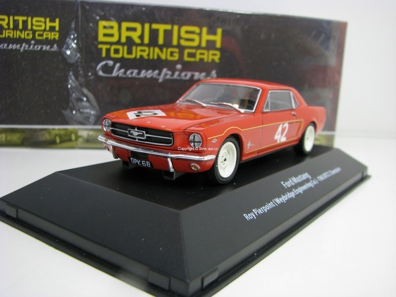 Ford Mustang No.42 Roy Pierpoint 1965 BTCC Champion 1:43 Atlas