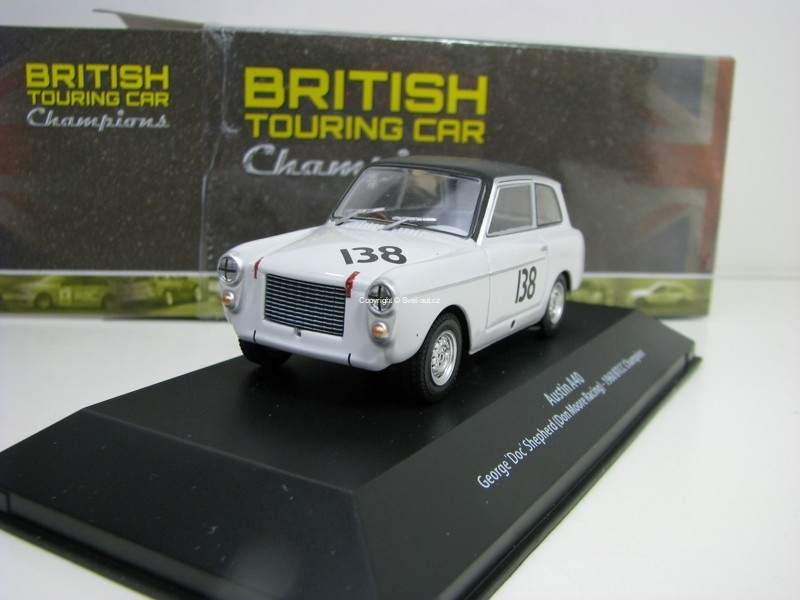 Austin A40 No.138 Gerge Shepherd 1960 BTCC Champion 1:43 Atlas