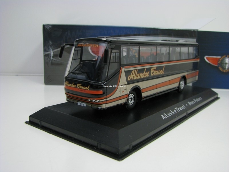 Autobus Bova Futura Allander Travel 1:72 Atlas Edition