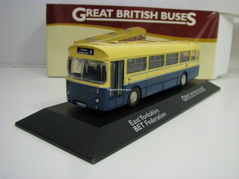 Autobus East Yorkshire BET Federation 1:76 Great Britisch Buses Atlas Edition