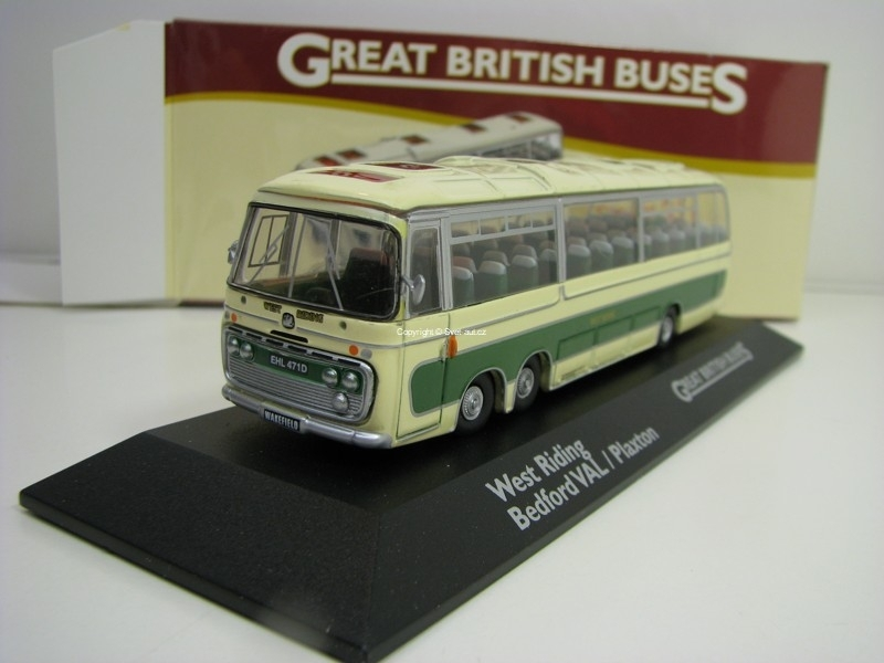 Autobus West Riding Bedford Val Plaxton 1:76 Great Britisch Buses Atlas Edition